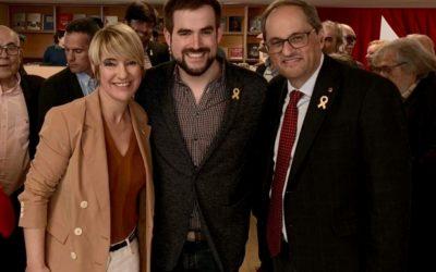 Junts per Castellar trasllada la reivindicació de l'accés a la C-58 al president Quim Torra