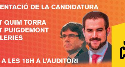 Junts per Castellar : ACTE DE PRESENTACIÓ DE LA CANDIDATURA