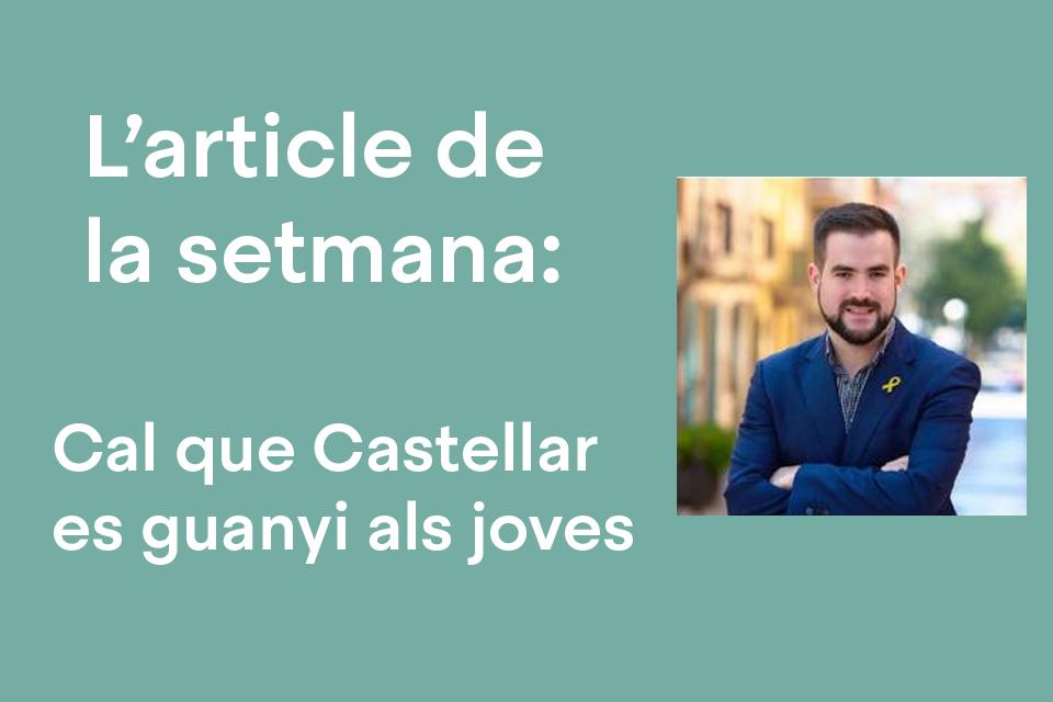 Cal que Castellar es guanyi als joves